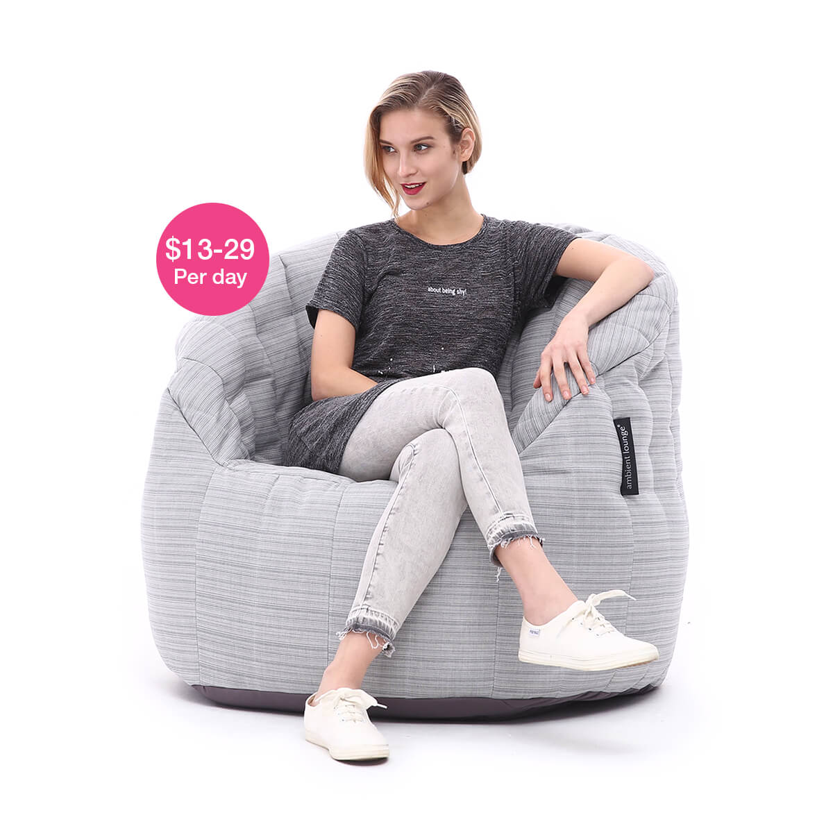 Peachy Bean Bag Hire By Ambient Lounge Sydney Melbourne Perth Pabps2019 Chair Design Images Pabps2019Com