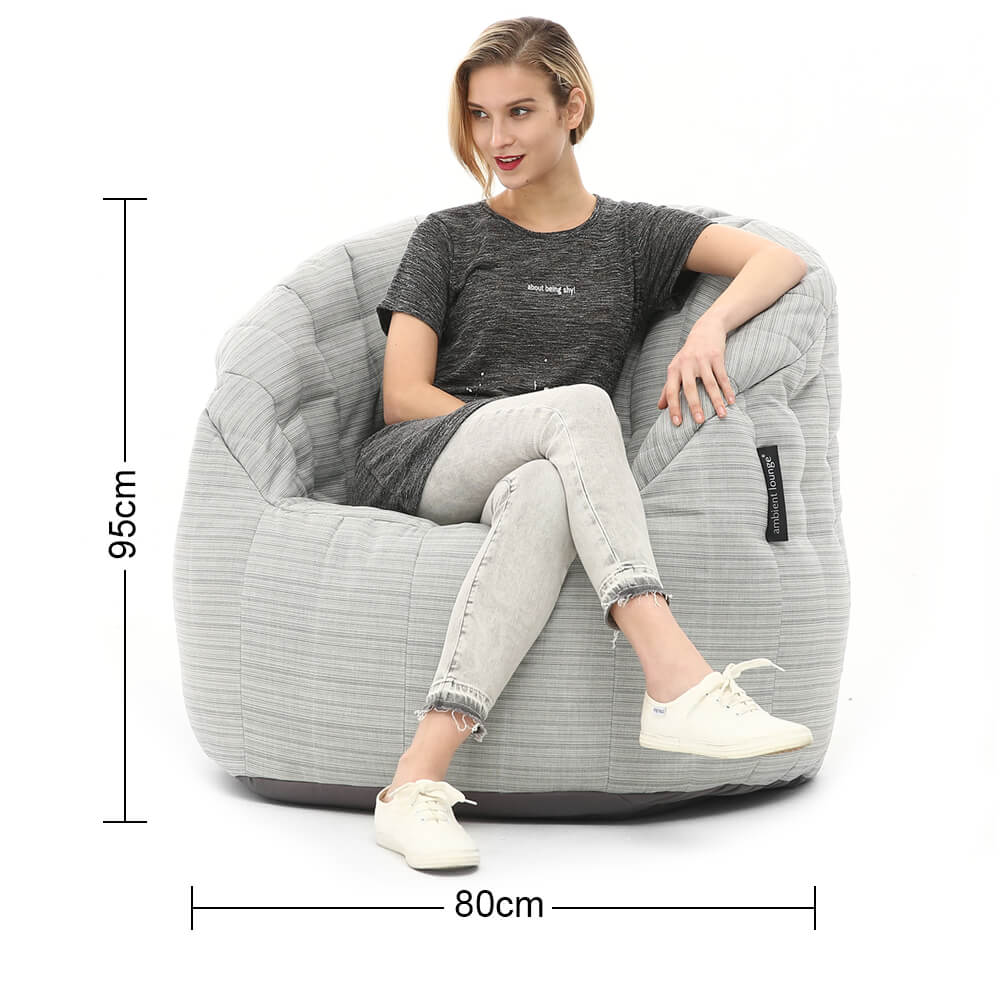 Butterfly beanbag dimensions